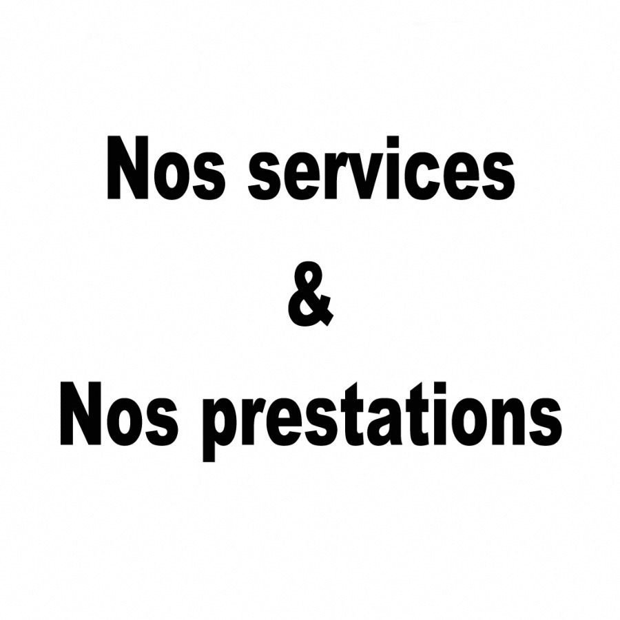 LES SERVICES/PRESTATIONS