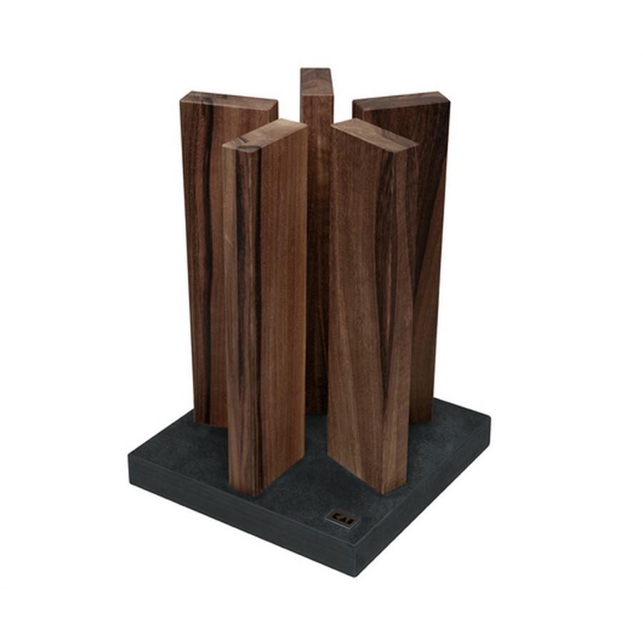 Bloc magnetique kai stonehenge 10 couteaux - Porte couteaux pour table ...